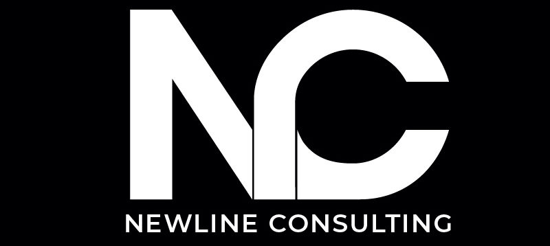 Logo Schwarz Newline Consulting - Marketing Agentur für Immobilienmarkler